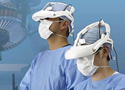 کلاه هوشمند جراحی سونی