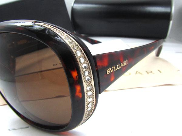 عینک آفتابی زنانه Bvlgari Crystal Sunglasses