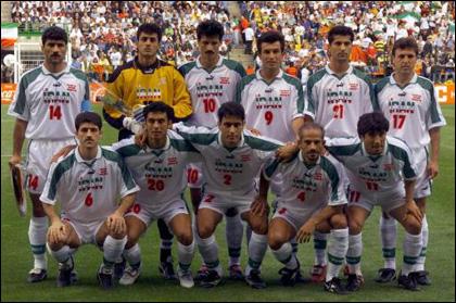تیم ملی ایران در جام جهانی98فرانسه