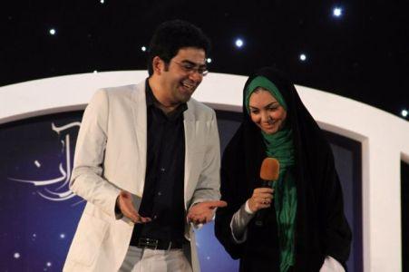 آزاده نامداری و فرزاد حسنی در اجرای ماه مبارک رمضان