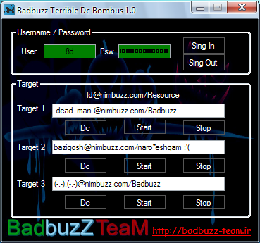 Badbuzz Terrible Dc Bombus version 1.0 Badbuzz_DC