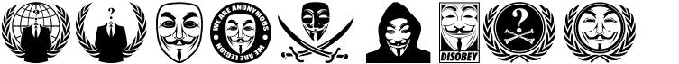 فونت anonbats