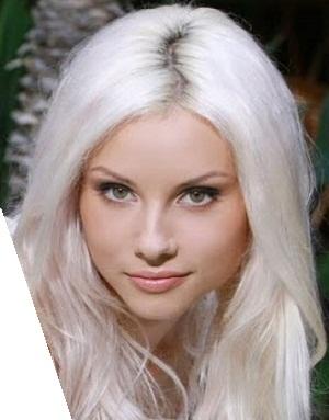 عکس رنگ مو استخوانی