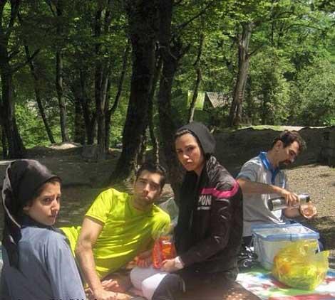 محمد موسوی با خانواده !