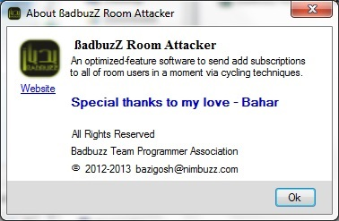 ßadbuzZ Room Attacker [smart cycling to send add 1add