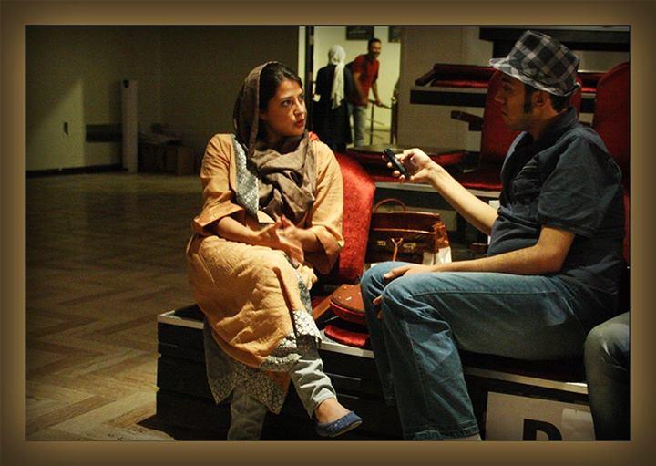 عکس بازیگر ویدا جوان و همسرش
