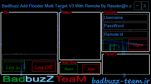 Badbuzz Add Flooder Multi Target V3 With Remote Pcccc