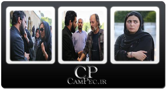 عکس های بازیگران در مراسم ختم پدر حامد بهداد(1)