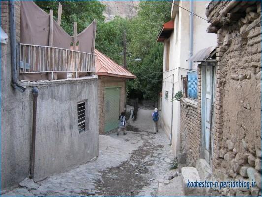 روستای کلوگان - مسیر قله ورجین