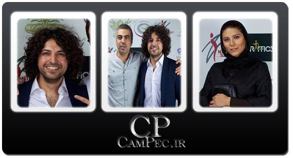 عکس های بازیگران در مراسم رونمایی از آلبوم ترافیک اشکان خطیبی