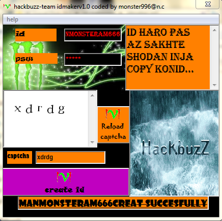 hackbuzz-team id maker v1.0 coded by monster996@n.c Capture5478