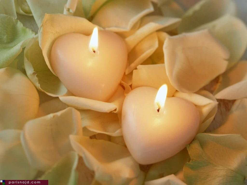 عکس عاشقانه جدید-شمع