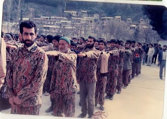 اعزام رزمندگان به روستای حسین آباد