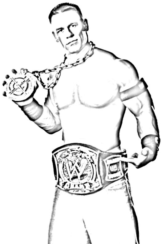 bethesta the wrestler coloring pages - photo#30