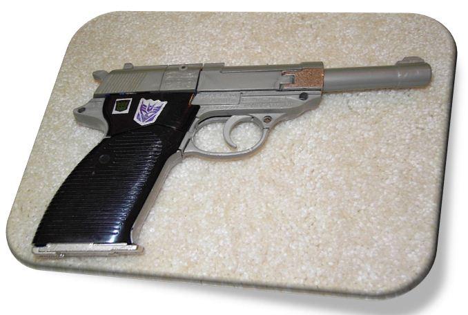 تفنگ اسباب بازی قدیمی
