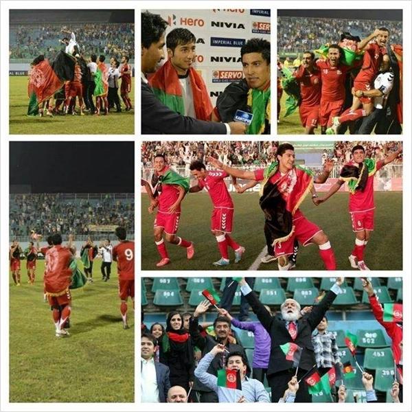 تیم ملی فوتبال افغانستان، بازی هند و افغانستان، مسابقات جام جنوب شرق اسیا، بازی فینال، شیران خراسان، پیروزی