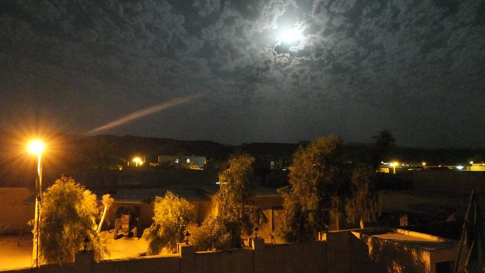 ماه کامل در شب پهرست