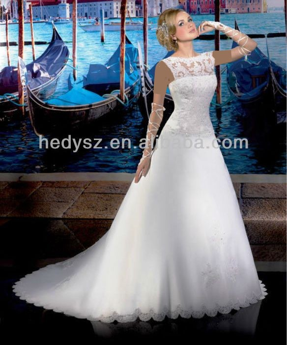 انواع مدل لباس عروس ویژه خانوم های لاغر اندام