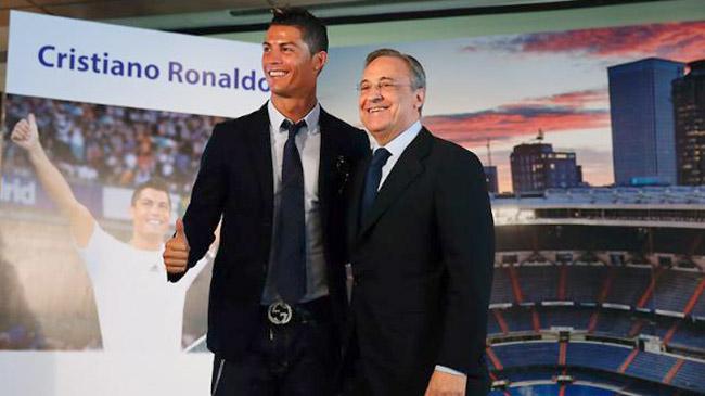 تمدید قرار داد کریستیانو رونالدو تا سال ۲۰۱۸ با رئال مادرید
