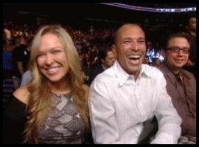 9.22.2013 : Royce Gracie می داند که چه کسی قهرمان زنان را شکست خواهد داد