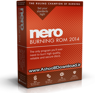 www.AshooBDownload.ir | Nero Burning ROM 2014