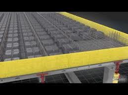سقف مجوف بتن مسلح با استفاده از بلوك تو خالى ماندگار، از جنس پلى پروپلين