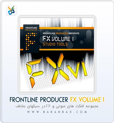 دانلود مجموعه افکت Frontline Producer FX Volume 1 Studio Tools