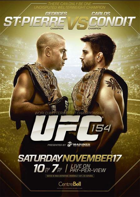 دانلود یو اف سی 154 | UFC 154: St-Pierre vs. Condit