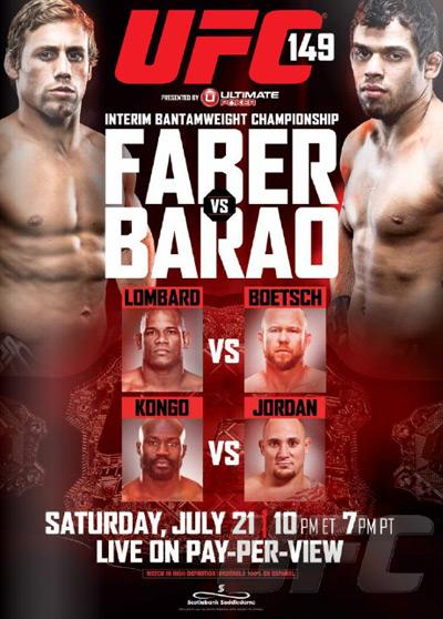 دانلود یو اف سی UFC 149: Faber vs. Barao | 149