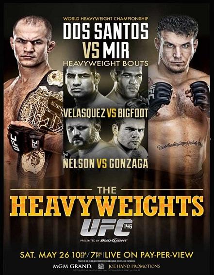 دانلود یو اف سی 146 | UFC 146: Dos Santos vs. Mir
