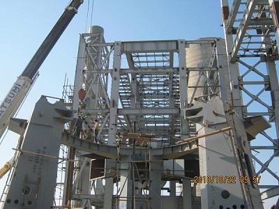 ساخت قطعات فولادی صنایع سیمان