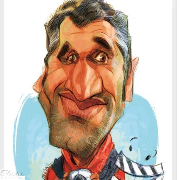 کاریکاتور پژمان جمشیدی