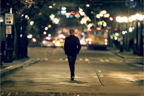 Image result for پسر تنها در خیابان