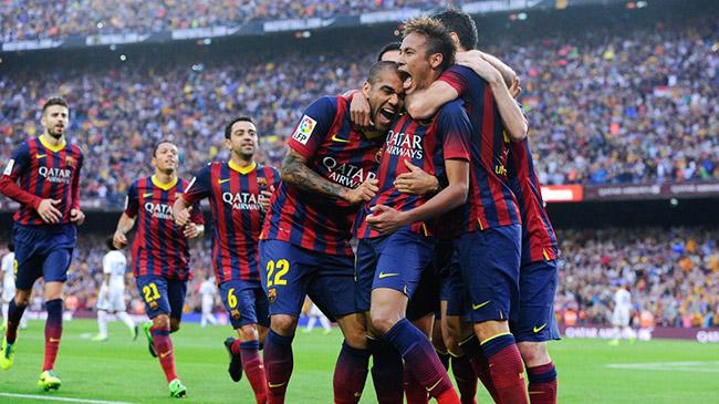پيروزي بارسلونا مقابل رئال با درخشش نيمار