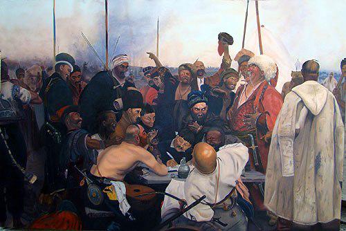 تابلو نقاشی تاراس بولبا