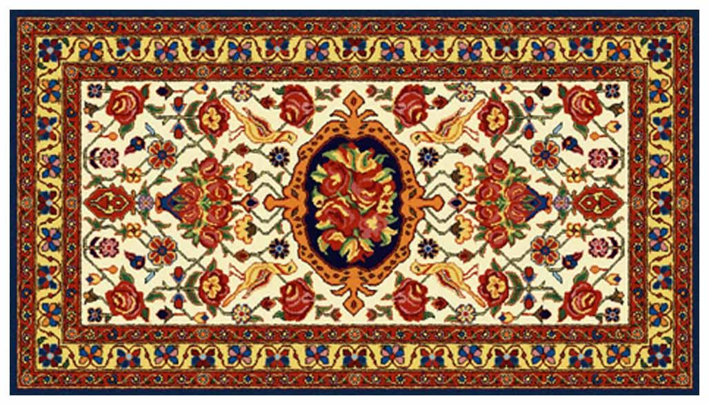 فرش با نقش پرنده