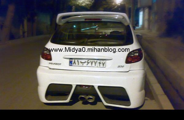 عکس,عکس ماشین,عکس جدید ماشین,206اسپرت,ماشین های گران قیمت,ماشین های فروشی,ماشین های اسپرت ایرانی