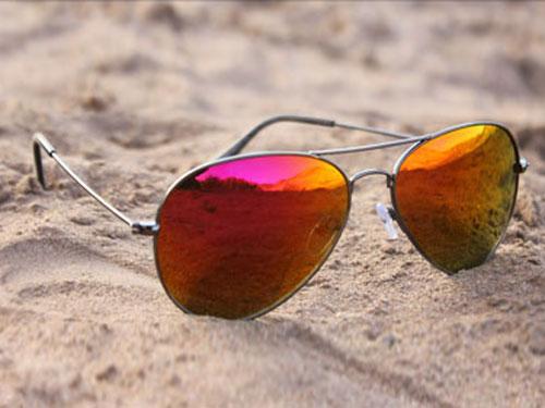 خرید عینک آفتابی خلبانی شیشه آتشی