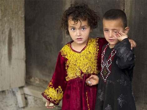 کودکان زیبای افغانستان