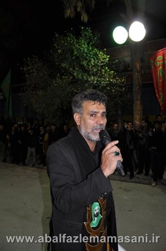 شب ششم محرم . حاج عباس خسروی