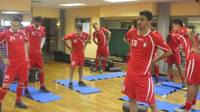 اخبار کوتاه از تیم ملی ایران در تایلند