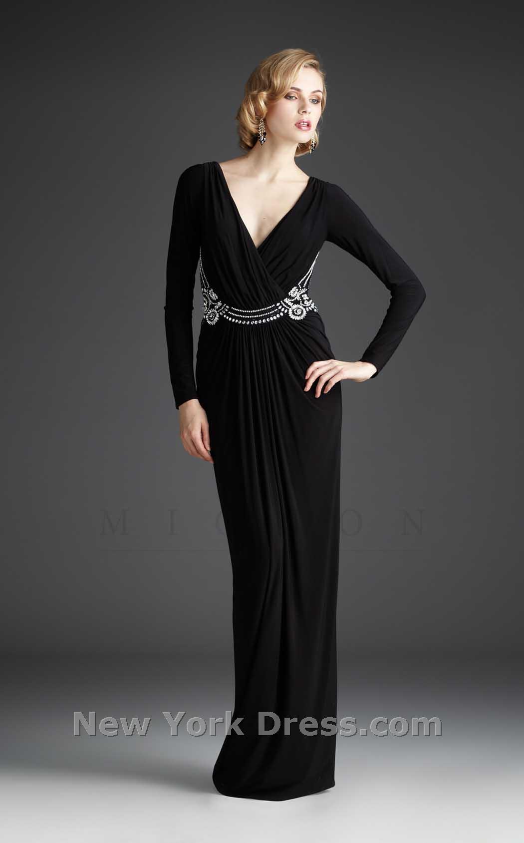 لباس مجلسی سیاه