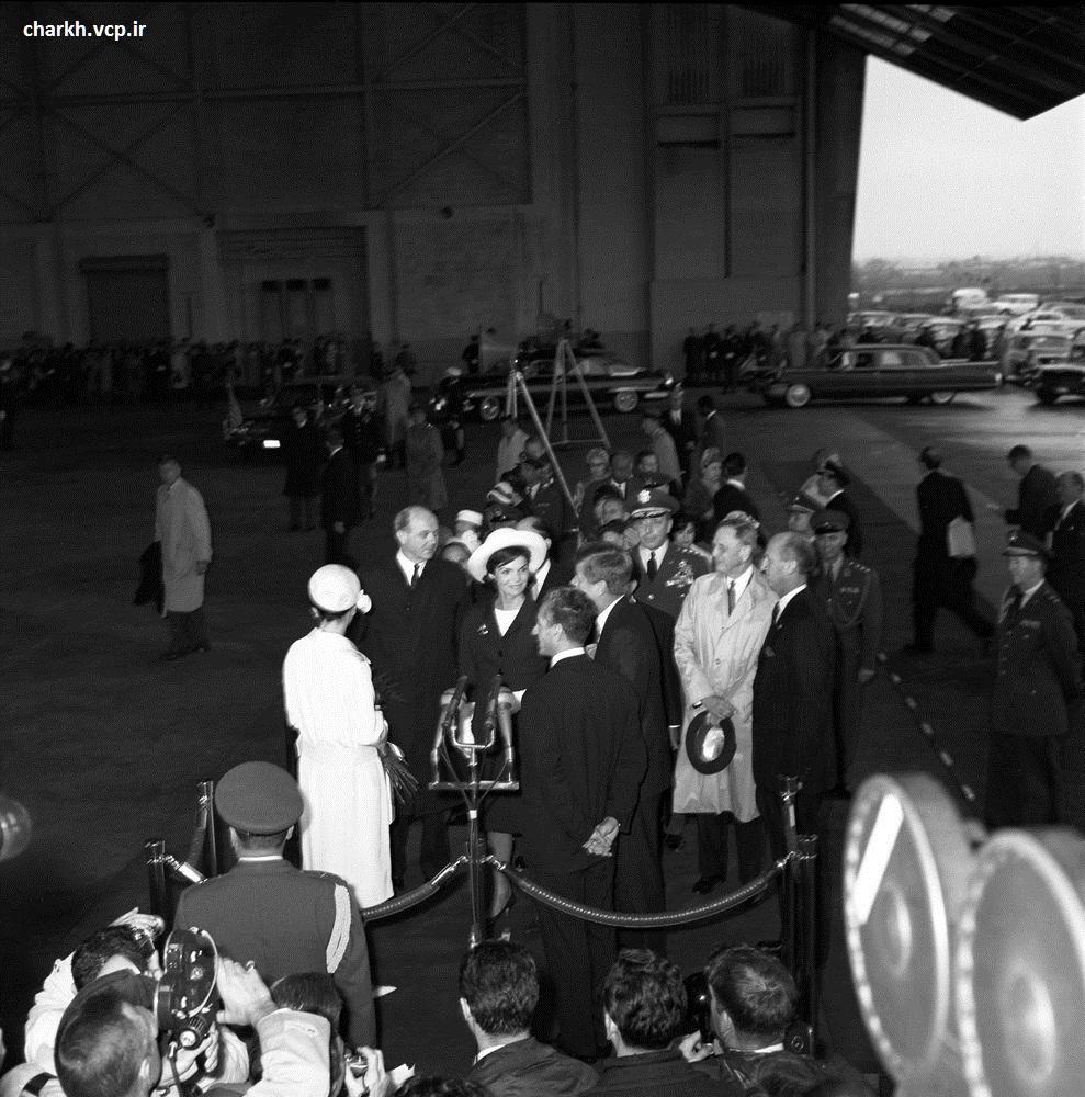 محمدرضا شاه در آمریکا
