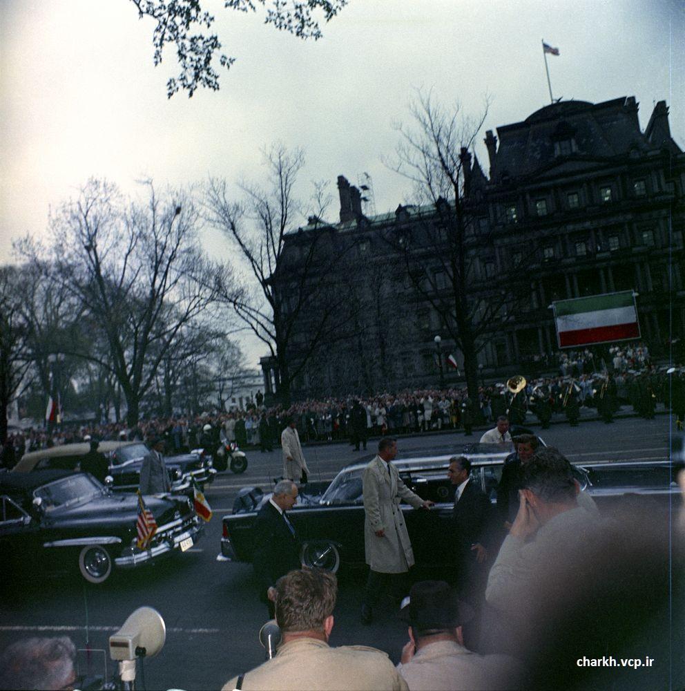 شاه در واشنگتن