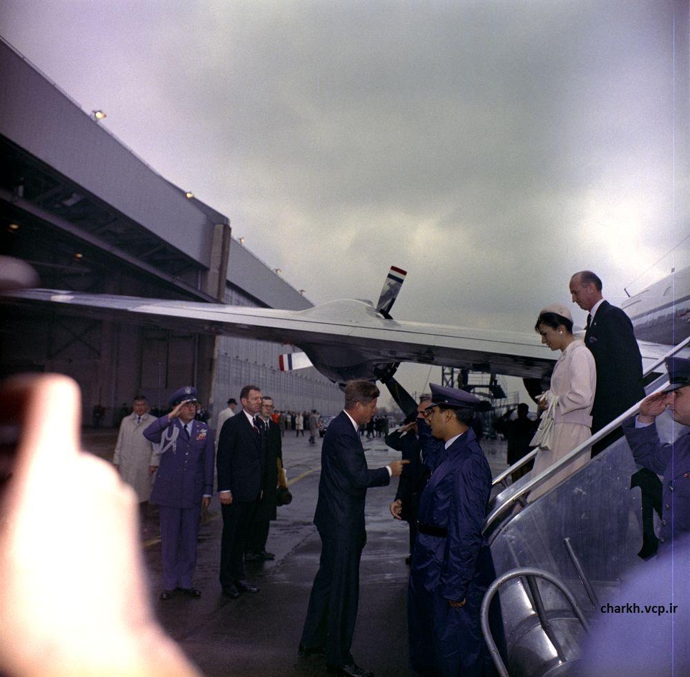 شاه و جان اف کندی
