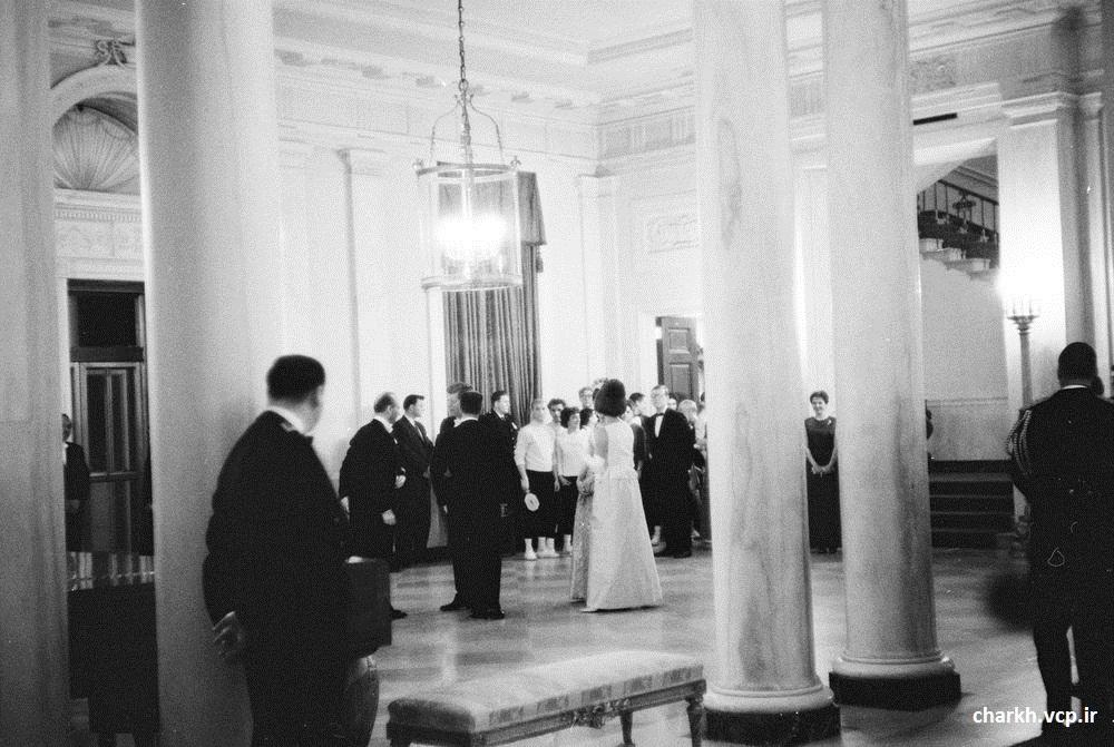 محمدرضا شاه در کاخ سفید