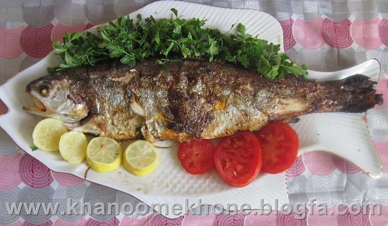 ماهی قزل آلا ، ماهی شکم پر