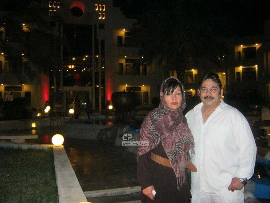 داریوش سلیمی و همسرش