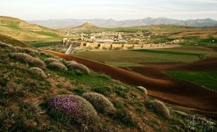 تخت سلیمان - زندان سلیمان (هردو در یکجا)