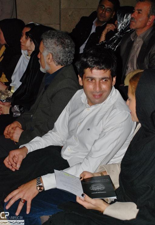 حمید گودرزی و همسرش